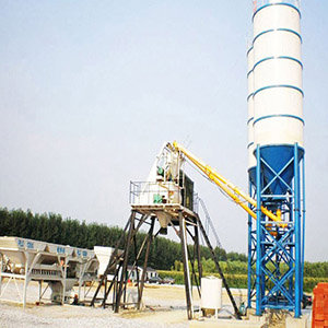 Our HZS50 Concrete Mixing Plant to Chile