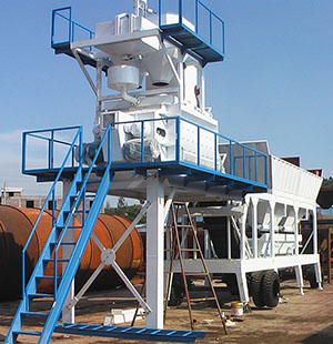 Our HZSY35 Concrete Mixing Plant to  Mongolia