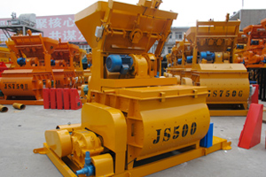 JS Electric Concrete Mixer