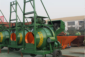 JZD Automatic Promotion Concrete Mixer