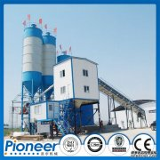 Our HZS90 concrete batching plant was exported to India