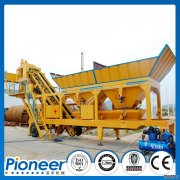 HZSY75 concrete mixing plant to Brazil