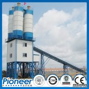 What characteristics does each system of HZS90 concrete mixin